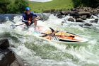 Drak Challenge 2014 - Brendon Germaine at Glen Haven rapid