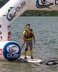 Dusi 2014 - Jon Ivins at Finish of day 2 on Inanda Dam