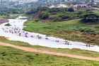 Dusi 2014 - Day 2 start at Dusi Bridge