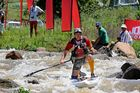 Dusi 2014 - Jon Ivins at Mission rapid on day 1